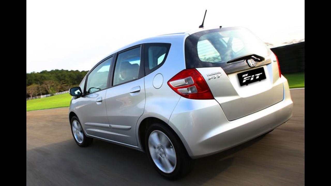 Linha Honda Fit 2011 chega sem novidades - Preços começam em R$ 54.905