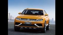 VW CrossBlue Coupé Concept antecipa detalhes do próximo Tiguan