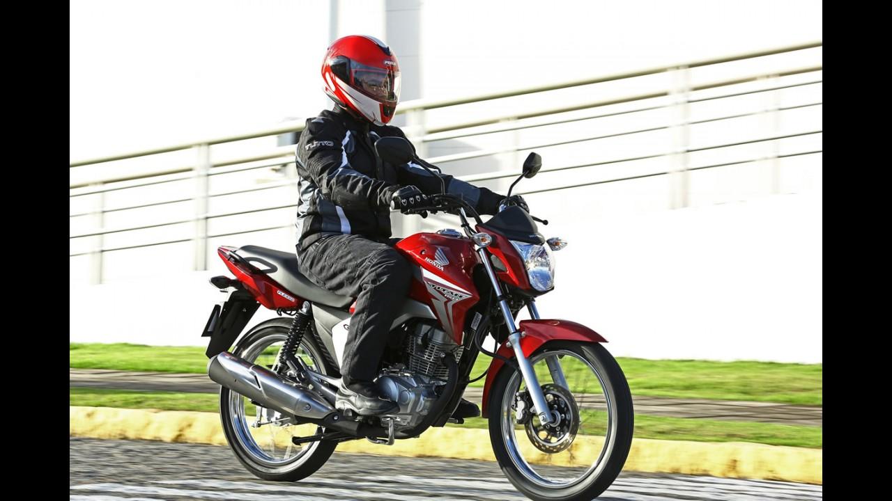 Volta rápida: Honda mexe em time que está ganhando e deixa CG 2014 mais magra e bonita