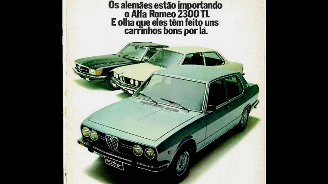 Carros para sempre: Alfa Romeo 2300 - europeu, mas feito no Brasil