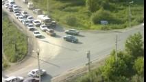 VÍDEO: Câmeras flagram irresponsabilidade de motorista na Rússia