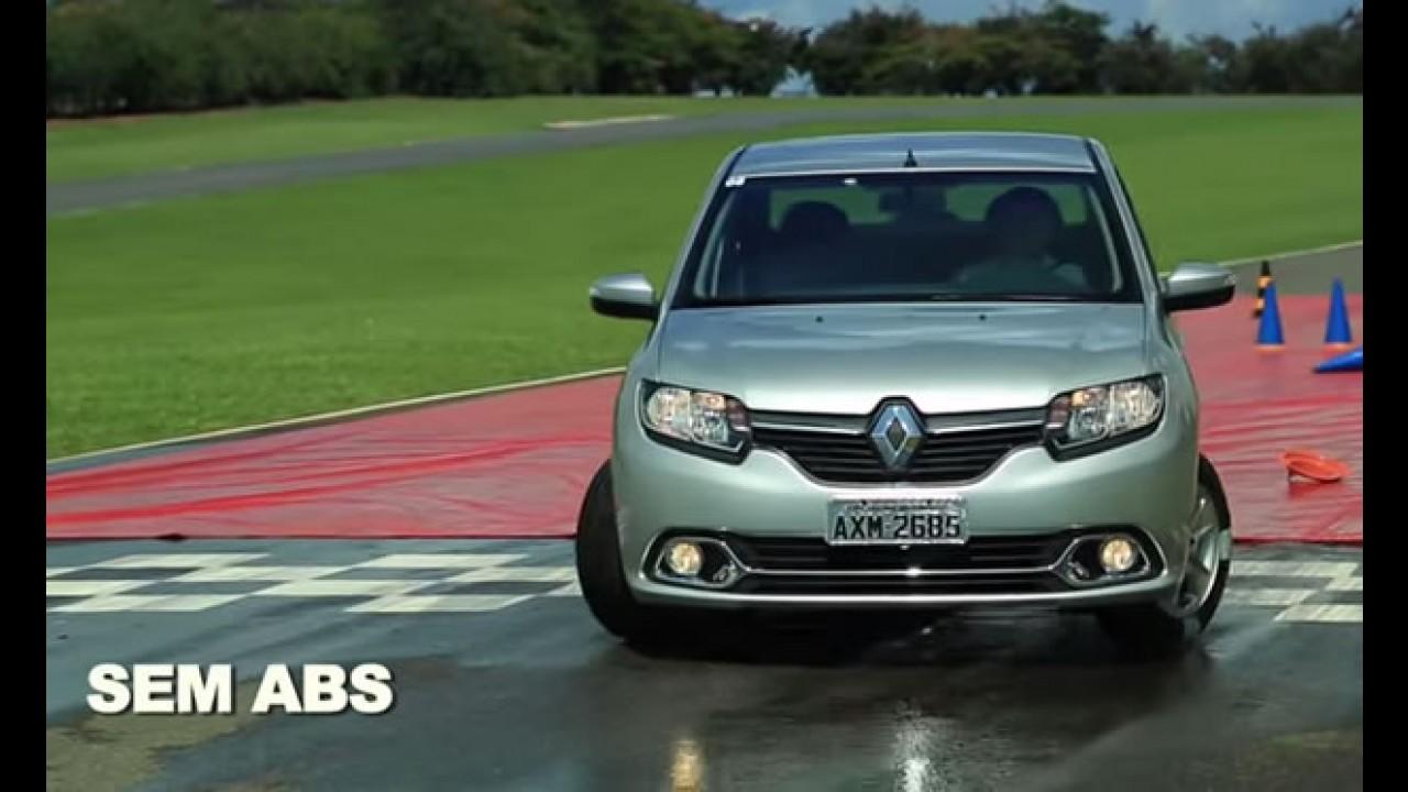 Vídeo: Renault mostra na prática o funcionamento dos freios ABS