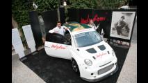 Fiat 500 Abarth posa per Modigliani