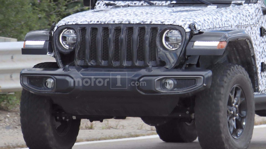 2018 Jeep Wrangler Rubicon Spy Photo