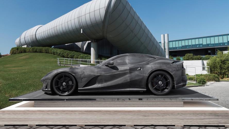 Ferrari 812 Superfast - Une maquette en carbone estimée à 300'000 €
