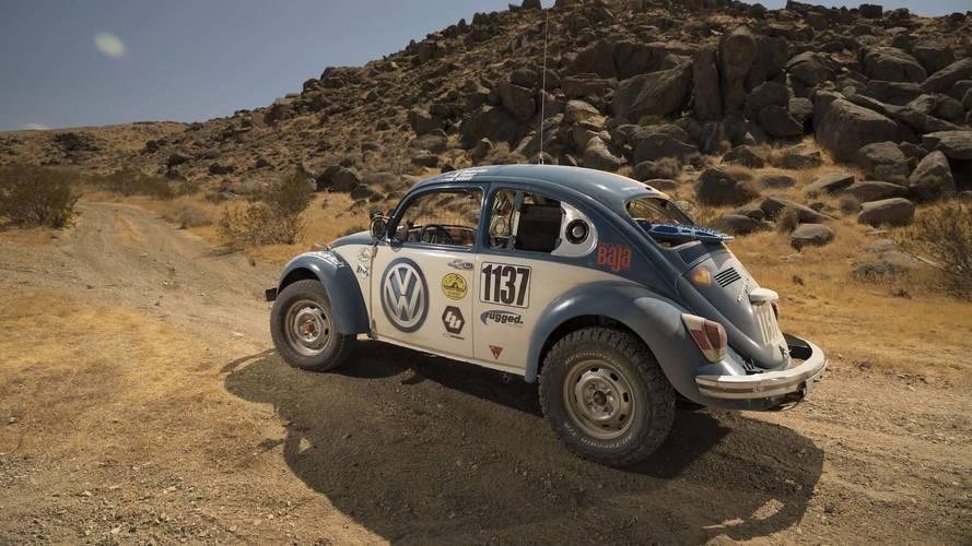 Volkswagen patrocina este Beetle de 1970 en la Baja 1000