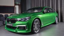 BMW M760Li Rallye Green 2018