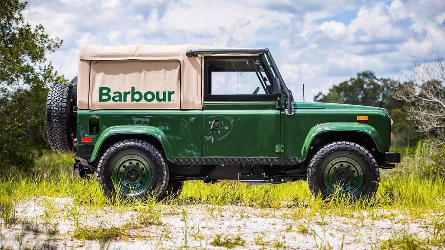 Land Rover Defender Barbour, el todoterreno con más estilo
