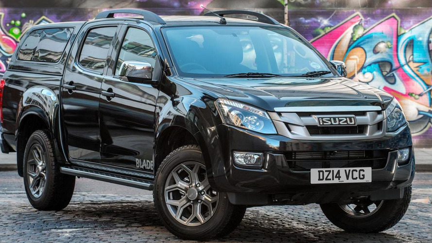 Isuzu D-Max Blade announced for the U.K.
