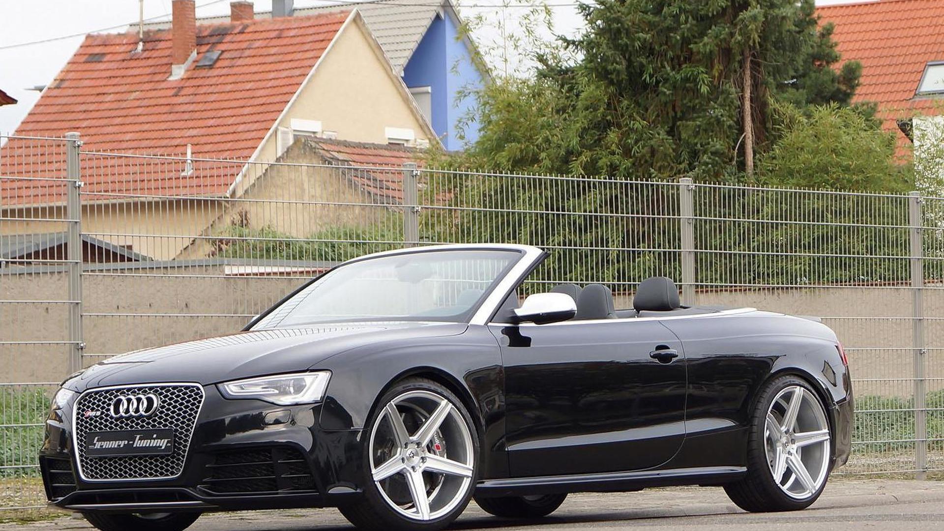 Audi RS5 Convertible. Тюнинг от Senner