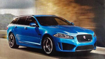 Jaguar XFR-S leaked official photo (not confirmed)