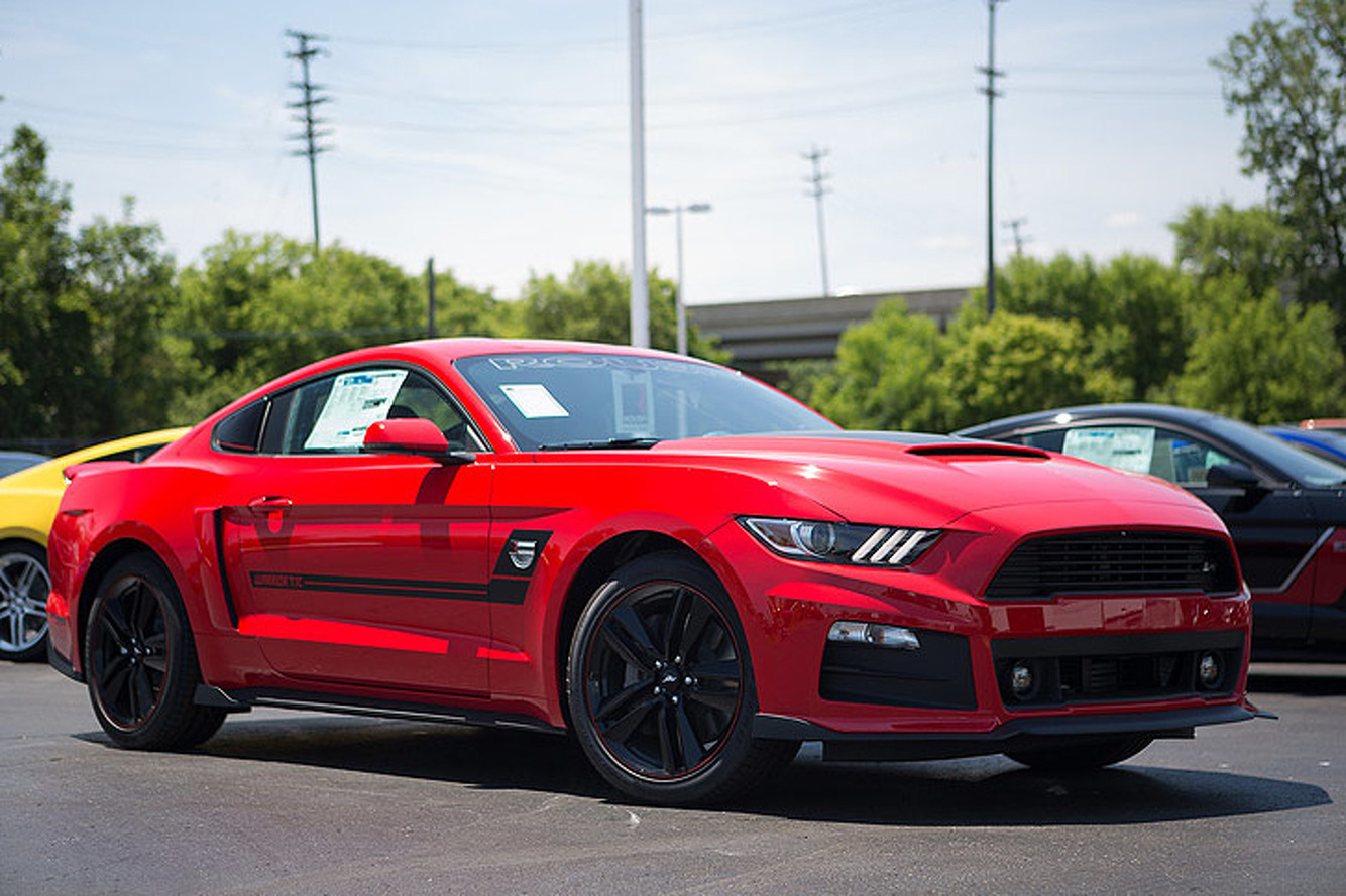 Roush Built One Very Special Mustang for Military Serving Abroad