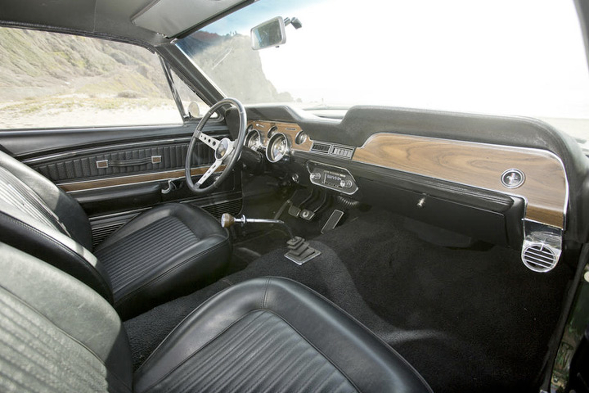 "McQueen's '68 ""Bullitt"" Mustang Tribute Build"