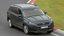 2017 Skoda Kodiaq at the Nurburgring