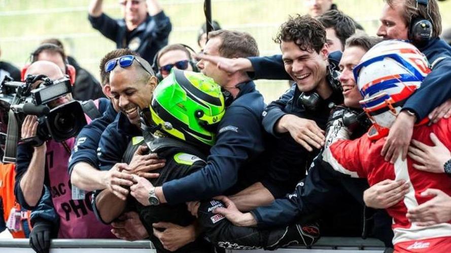 Schumacher's son wins Formula 4 race