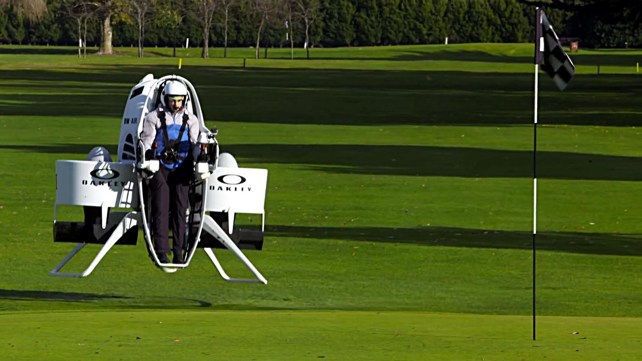 Oakley golf cart jetpack