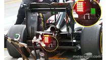 McLaren MP4-31 rear detail