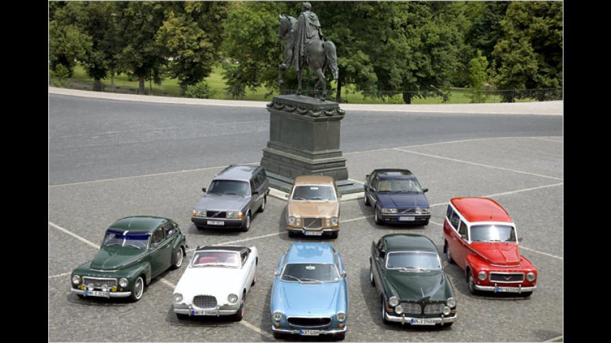Sicherheit aus Schwedenstahl: 50 Jahre Volvo in Deutschland