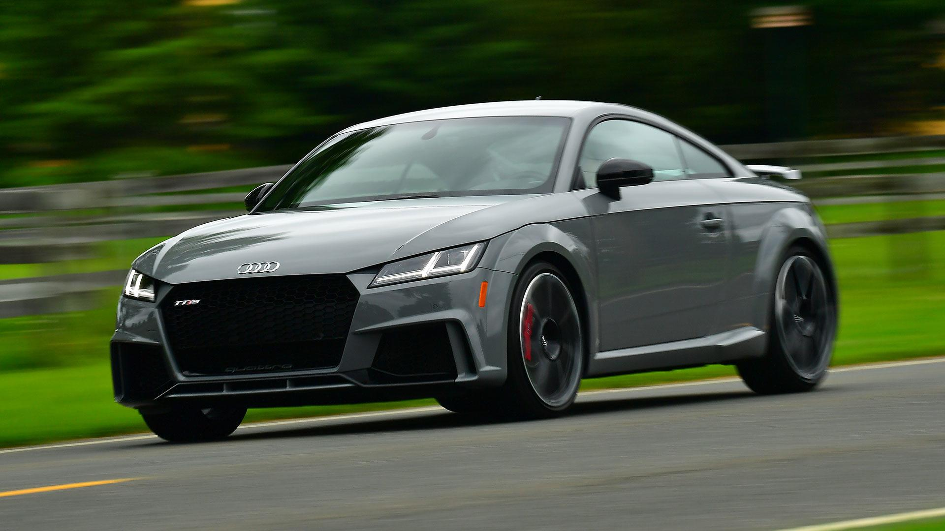 2018 audi tt rs first drive the most thrilling tt yet. Black Bedroom Furniture Sets. Home Design Ideas