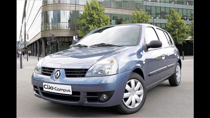 Renault Clio Campus: Diesel-Motor und Frontpartie neu