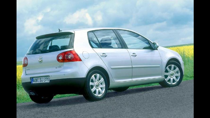 VW Golf V: Jetzt auch mit Allradantrieb