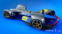 Michelin sera le fournisseur officiel de la série Roborace
