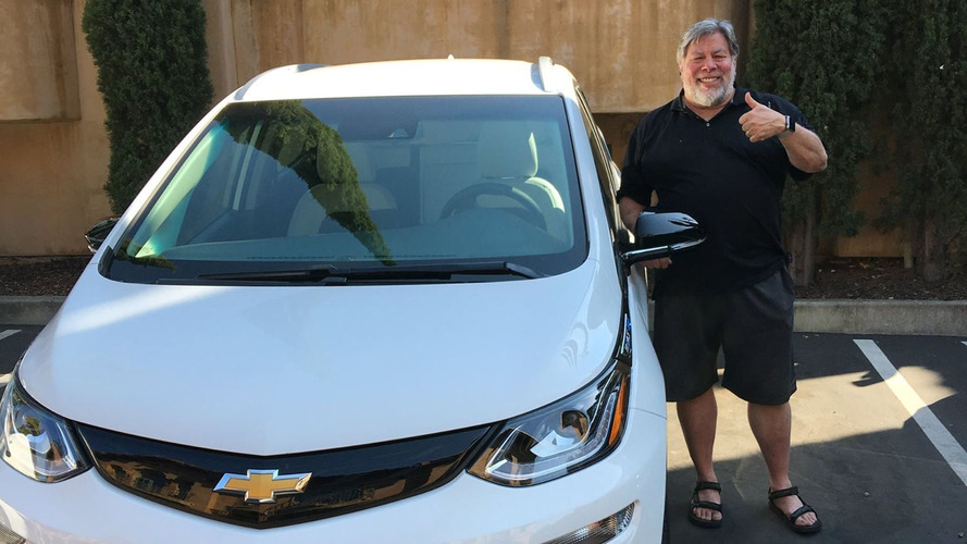 Steve Wozniak finally buys a Chevy Bolt