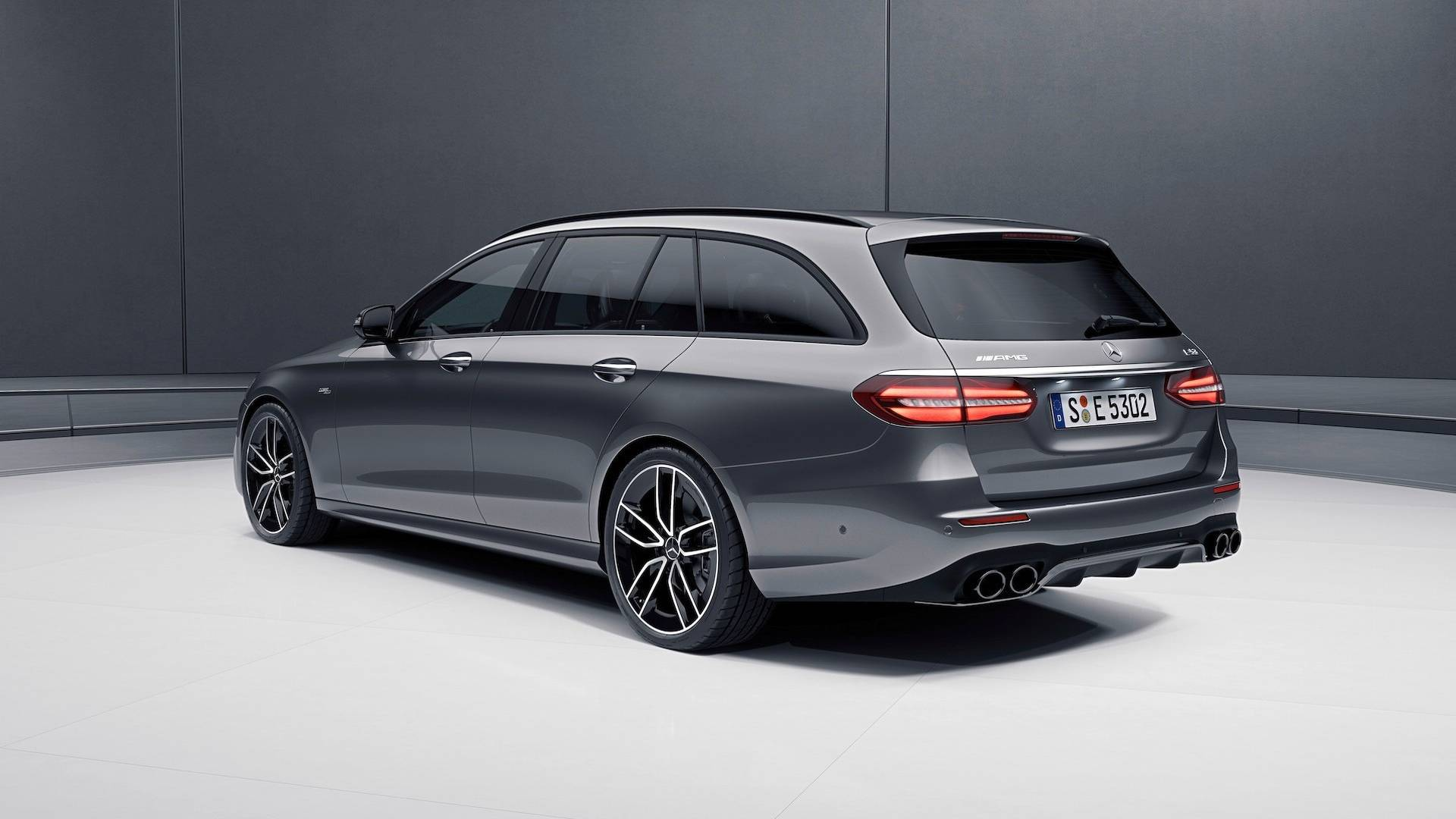 VWVortex.com - 2019 Mercedes-AMG E53 sedan and wagon unveiled with AMG's 429-hp turbocharged ...