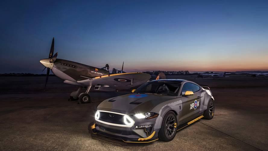 Közúti vadászgép lett a jótékony célból készült Eagle Squadron Mustang GT