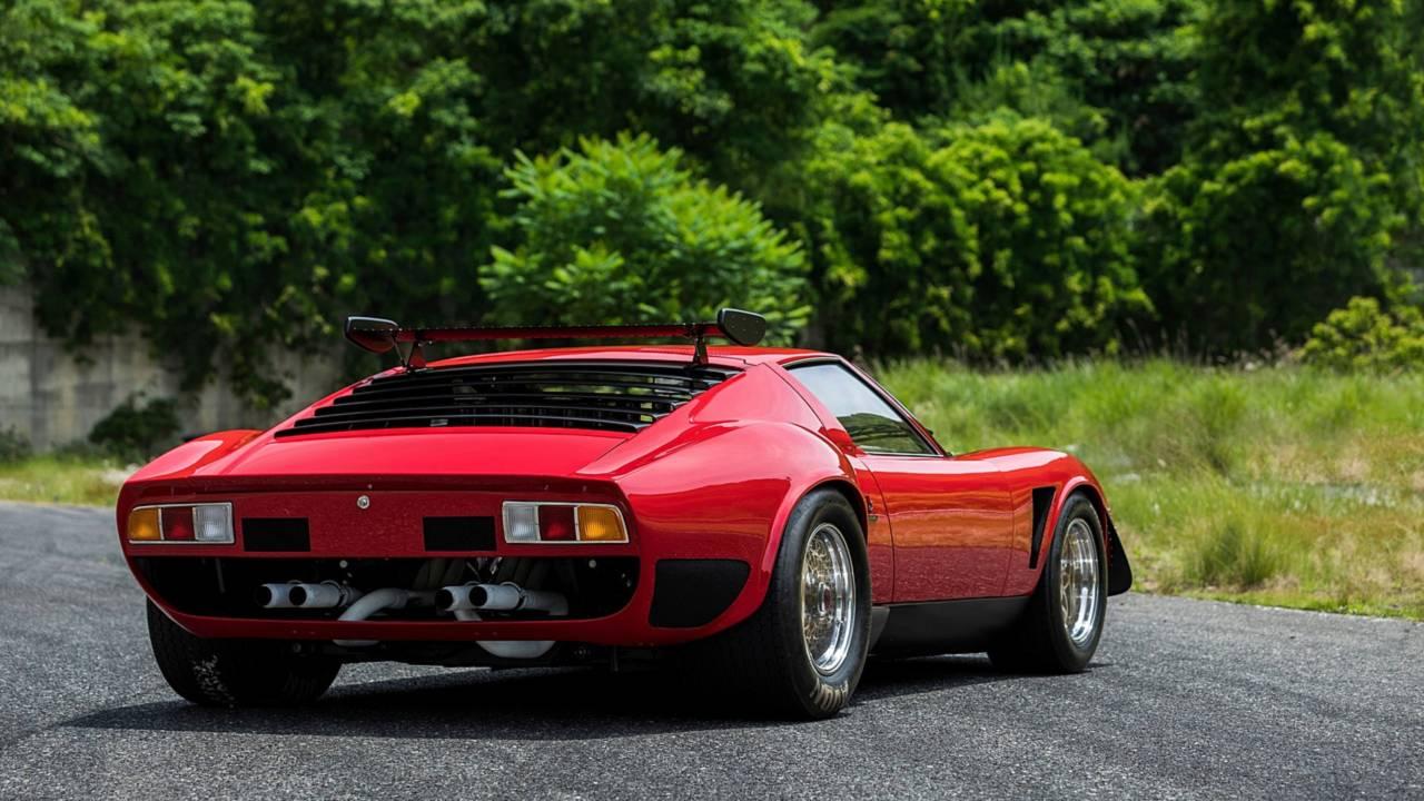 Restored Lamborghini Miura SVR