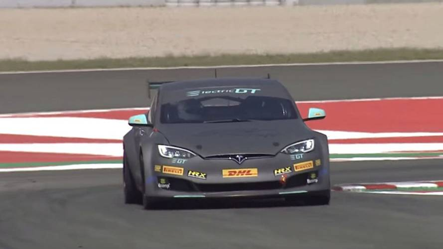 Watch Tiff Needell Drive World's Fastest Tesla