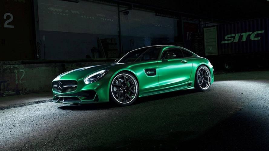 La Mercedes-AMG GT revue par Wald International
