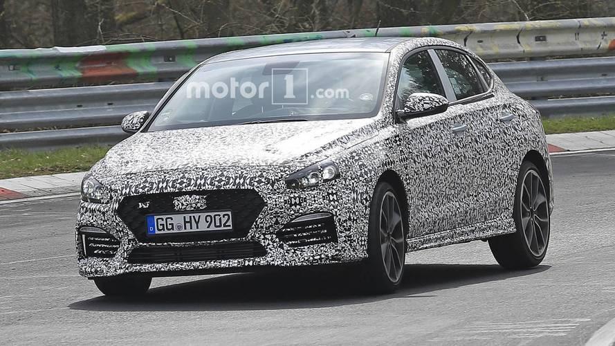 Hyundai i30 N Fastback Nürburgring'de yakalandı