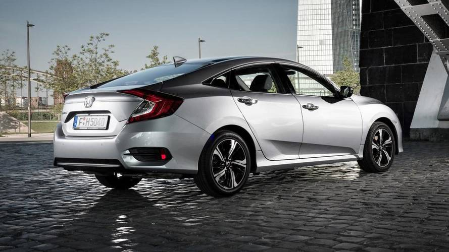 Honda Civic saloon prices start from £19,395