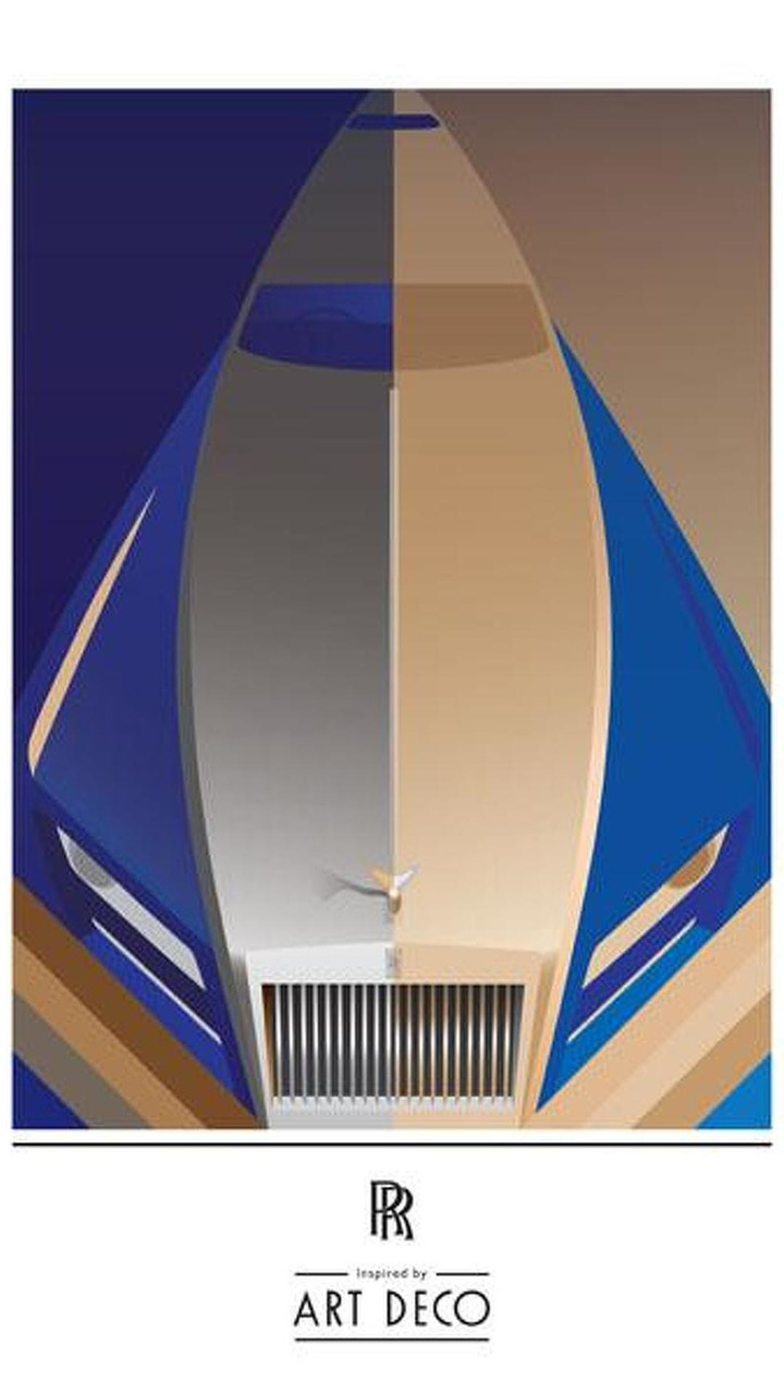 Rolls-Royce Art Deco teaser for 2012 Paris Motor Show 19.9.2012