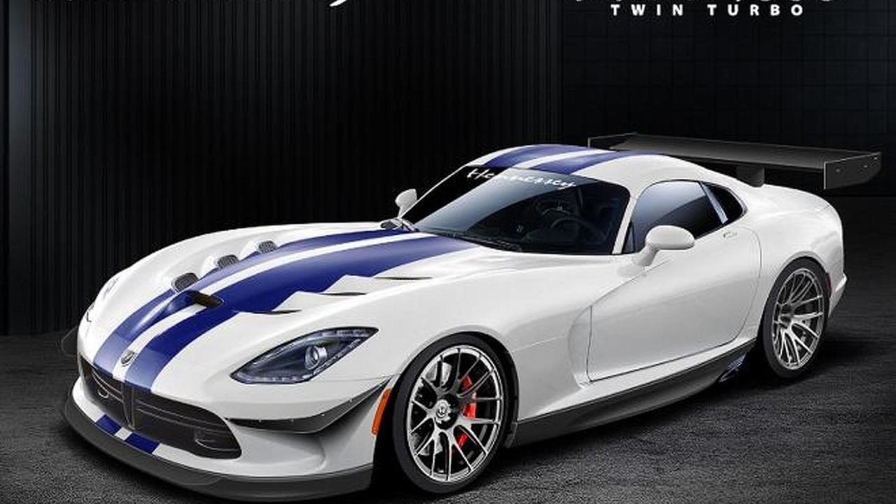 2013 SRT Viper-based Venom 1000 Twin Turbo by Hennessey Performance