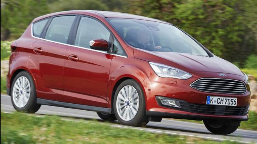 Ford C-Max, tanto spazio senza rinunciare al piacere di guida