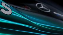 2017 Mercedes F1 car teaser image