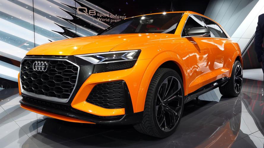 Audi Q8 Sport Concept antecipa versão esportiva do futuro SUV de topo