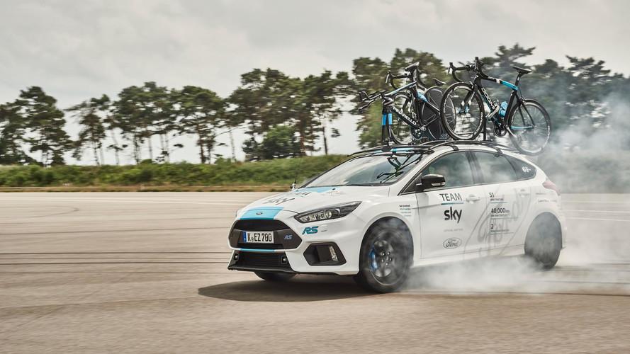 El Ford Focus RS desembarca en el Tour de Francia 2017