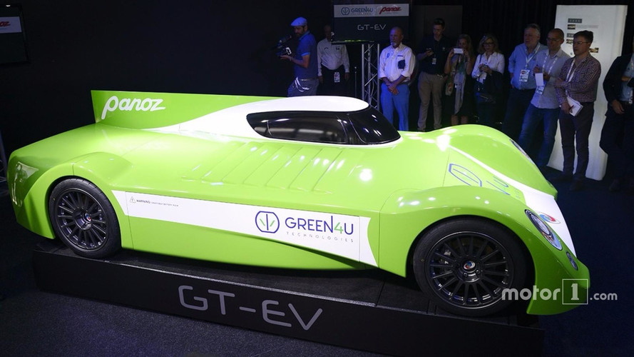 Panoz Pops Up With All-Electric Race Car Design, Plans Road Car