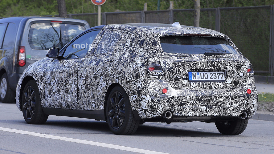 2019 bmw 1 series spied for the first time. Black Bedroom Furniture Sets. Home Design Ideas