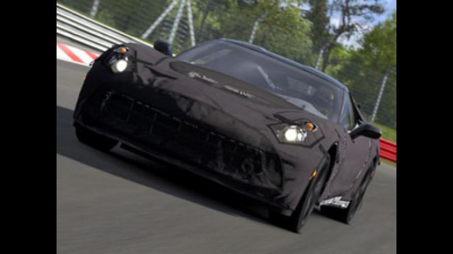 La Corvette C7 si può già guidare in Gran Turismo 5