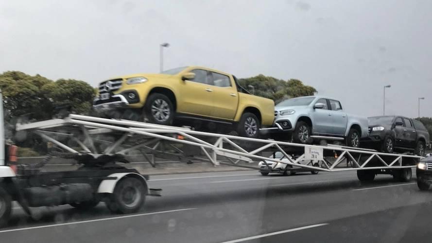 Mercedes desembarca primeiras unidades da picape Classe X na Argentina