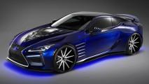 Lexus Black Panther Inspired LC Concept, al SEMA e poi al cinema