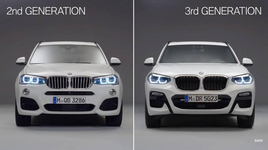 VIDÉO - L'évolution de la BMW X3 en images