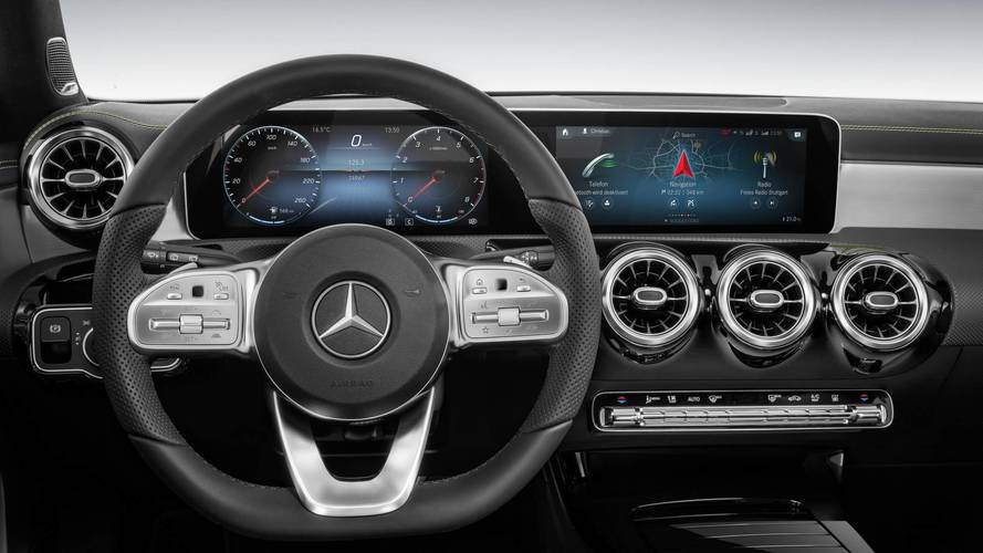 Mercedes A-Class Shows Off Tech-Heavy Dashboard In Great Detail