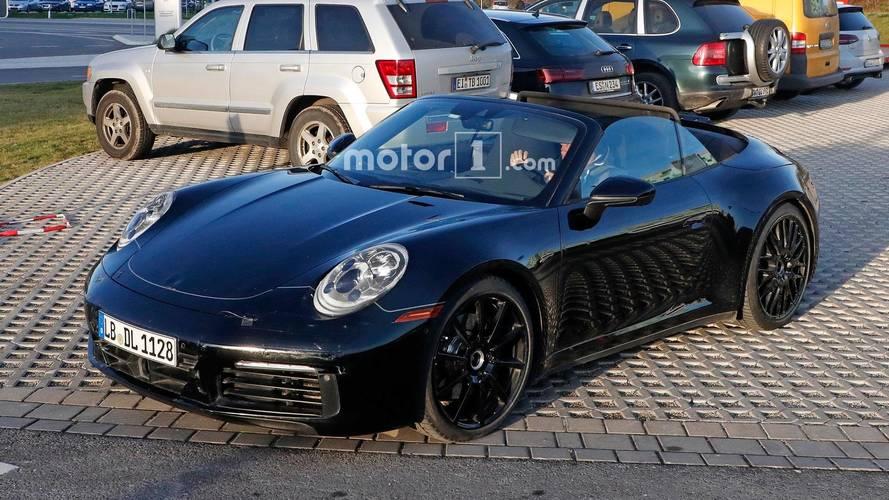 Yeni Porsche 911 Cabrio prototipi soğuğa aldırmıyor