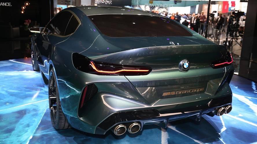 BMW M8 Gran Coupe Concept: Geneva 2018