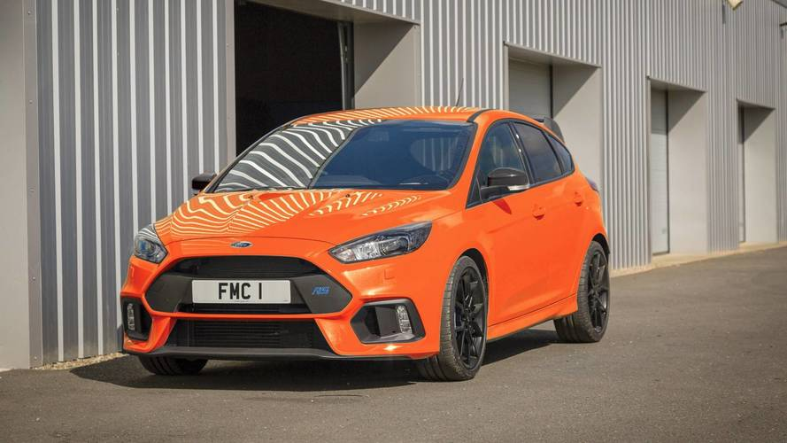 New £40k Ford Focus RS Heritage Edition marks production end